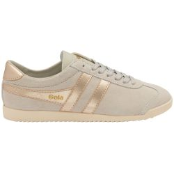 Gola Womens Bullet Pearl Classics Suede Trainers Shoes - Off White