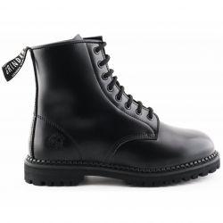 Grinders Mens Cedric CS Derby Boots - Black