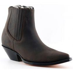 Grinders Mens Mustang Western Boots - Brown