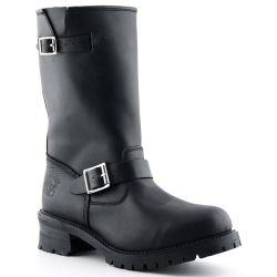Grinders Mens Turbo Engineer Boots - Black
