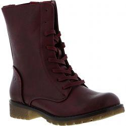 Heavenly Feet Womens Chloe 2 Boots - Wine