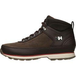 Helly Hansen Mens Calgary Waterproof Boots - Coffee Bean Natura Red
