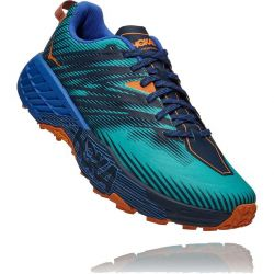 Hoka One One Mens Speedgoat 4 Running Shoes - Atlantis Dazzling Blue