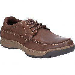 Hush Puppies Mens Tucker Shoes - Brown