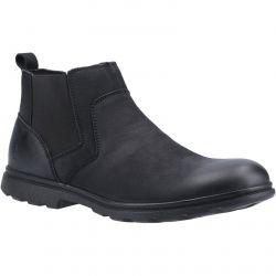 Hush Puppies Mens Tyrone Chelsea Boots - Black