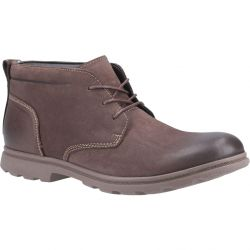 Hush Puppies Mens Tyson Chukka Boots - Brown