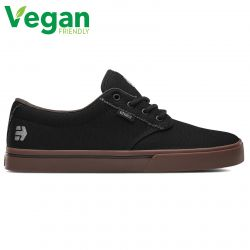 Etnies Mens Jameson Eco Vegan Skate Shoes - Black Charcoal Gum