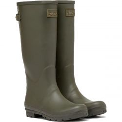 Joules Womens Field Welly Boots - Olive