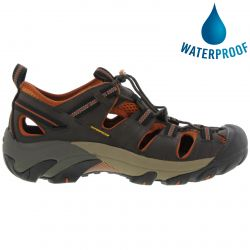 Keen Mens Arroyo II Waterproof Sandals - Black Olive Bombay Brown