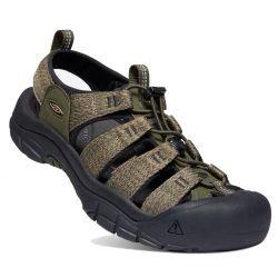Keen Mens Newport H2 Sandals - Forest Night Black