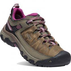 Keen Womens Targhee III WP Waterproof Shoes - Weiss Boysenberry