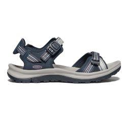 Keen Womens Terradora II Open Toe Walking Sandals - Navy