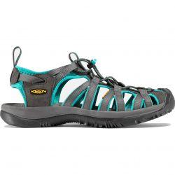 Keen Whisper Womens Waterproof Sandals - Dark Shadow Ceramic