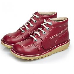 Kickers Mens Kick Hi Core Ankle Boots - Red
