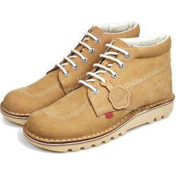 Kickers Mens Kick Hi Classic Leather Chukka Ankle Boots - Tan Nubuck
