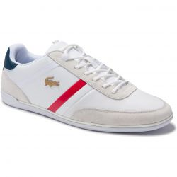 Lacoste Mens Giron 320 Trainers - White Navy