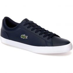 Lacoste Mens Lerond BL 1 Trainers - Navy