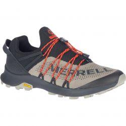 Merrell Mens Long Sky Sewn Vegan Trail Shoe - Black Brindle