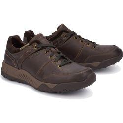 Mephisto Mens Fabiano Nevada Waterproof Shoe - Dark Brown