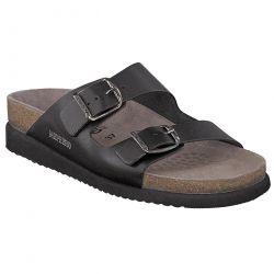 Mephisto Womens Harmony 2 Strap Adjustable Sandals - Black