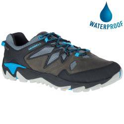 Merrell Mens All Out Blaze 2 GTX Waterproof Walking Shoes - Turbulence Cyan