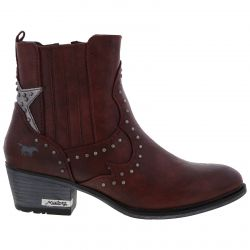 Mustang Womens 1346-502 Boots - Bordeaux