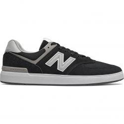 New Balance Mens AM 574 Skate Trainers - Black