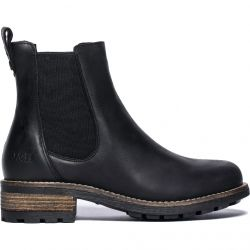 Oak & Hyde Womens Bridge Chelsea Boots - Black