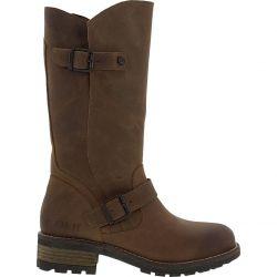 Oak & Hyde Womens Crest Leather Boots - Cognac