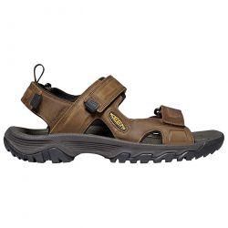 Keen Mens Targhee III Open Toe Sandal - Bison Mulch