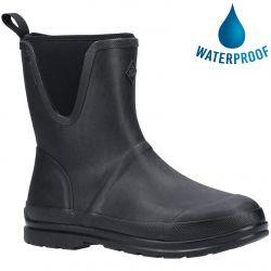 Muck Boots Mens Muck Originals Pull On Mid Wellington Boots - Black
