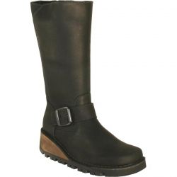 Oxygen Womens Danube Boots - Black