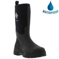 Muck Boots Mens Derwent II Neoprene Wellies Rain Boots - Black