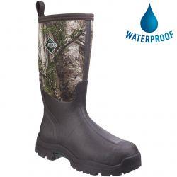 Muck Boots Mens Derwent II Neoprene Wellies - Bark Camo