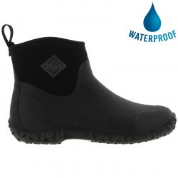 Muck Boots Mens Muckster II Ankle Short Chelsea Wellies Boots - Black Black