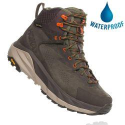 Hoka One One Mens Kaha GTX Waterproof Hiking Boot - Black Olive Green