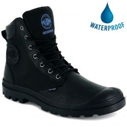 Palladium Mens Pampa Sport Cuff WPN Waterproof Boots - Black