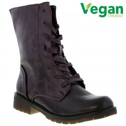 Heavenly Feet Womens Chloe Boots - Purple