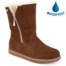 EMU Australia Womens Gravelly Waterproof Boots - Oak