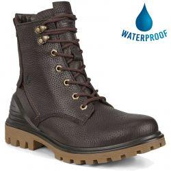Ecco Shoes Womens Tredtray Waterproof Ankle Boot - Mocha