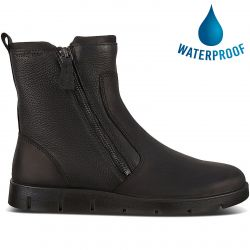 Ecco Womens Bella Twin Zip Boots - Black Black