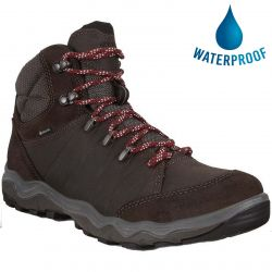 Ecco Mens Ulterra GTX Waterproof Walking Boots - Licorice Coffee