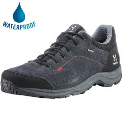 Haglofs Mens Krusa GT Waterproof GTX Walking Shoes - Magnetite True Black