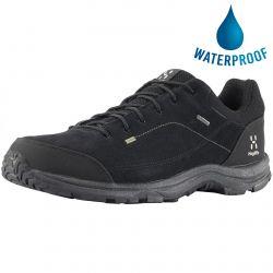 Haglofs Mens Krusa GT Waterproof GTX Walking Shoes - True Black