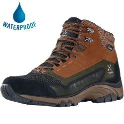 Haglofs Mens Skuta Mid Proof Eco Waterproof Walking Boots - Deep Woods