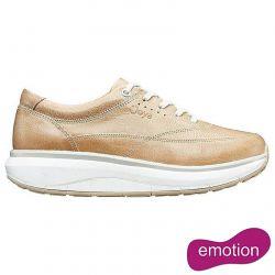 Joya Womens Venice Leather Shoes - Beige