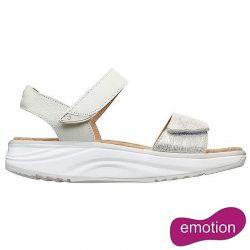 Joya Womens Flores Adjustable Sandals - Beige Metallic