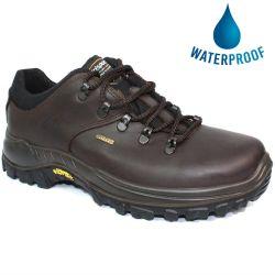 Grisport Mens Dartmoor Waterproof Leather Walking Shoes - Brown