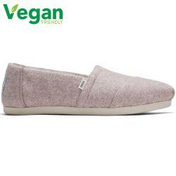 Toms Womens Alpargata Vegan Slippers - Pink