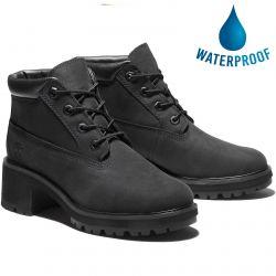 Timberland Womens Kinsley Nellie Chukka Waterproof Ankle Boot - Black - A2CJT